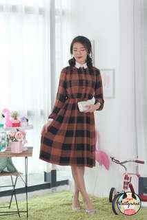 🍿 Vintage Midi Dress VD1271