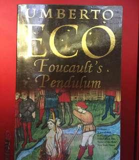 Foucault's Pendulm by Umberto Eco