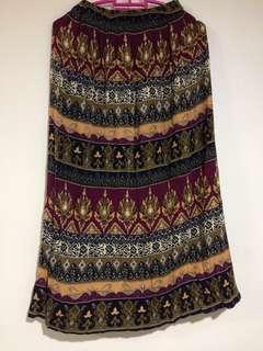 Kid's Skirt (Ethnic Motive)