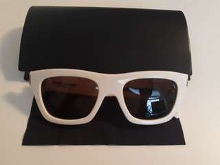 Saint Laurent Bold 4 white sunglasses