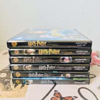 Harry Potter 1-6 Movies (VCDs)