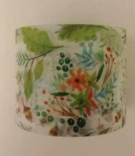 分裝紙膠帶 - 花草