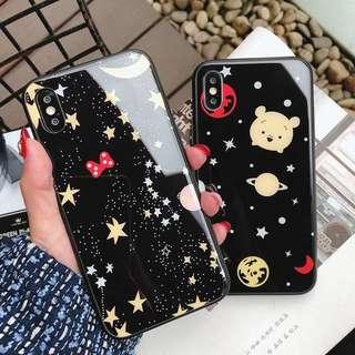 韓國直送! Winnie the poon Mickey Mouse iPhone case