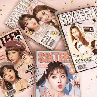 16 brand eye magazine 4色現貨