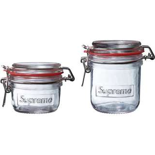 Supreme SS18 Jars (Sets of 2)