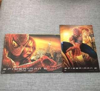 Spideman-2 & Batman collectable Cards