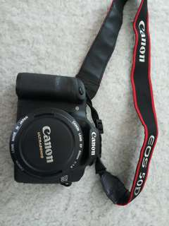 Camera Canon EOS 50D DS126211 Lens 50mm Ultrasonic