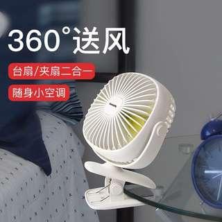 倍思 迷你小風扇隨身便攜usb可充電學生宿舍辦公室抖音電扇桌面