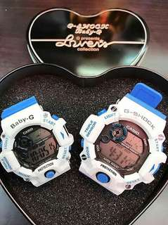Couple gshock/baby g