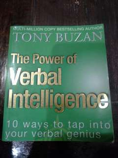 Tony Buzan - power of verbal intelligence