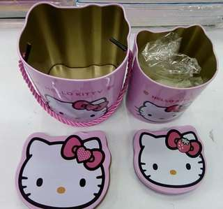 Pre Order -HELLO KITTY -2 IN 1 CANlSTER Php 180 -W/OUT SANRIO #syag