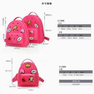 Crocs Jelly Bags 3in1 pcs.