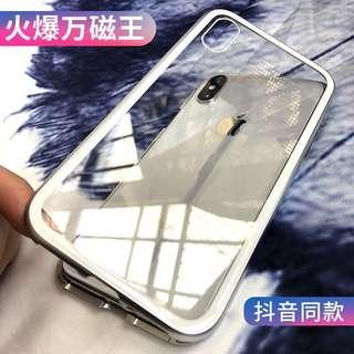 iPhoneX手機殼抖音蘋果8plus網紅同款10新款7防摔x玻璃7p男女款十
