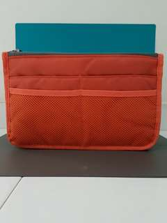 Bag Organizer - Orange & Grey