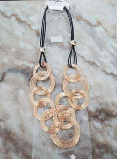 Ring Gold Necklace
