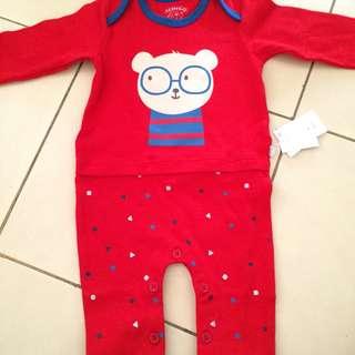 Jumpsuit baby merk ichigo brand AEON