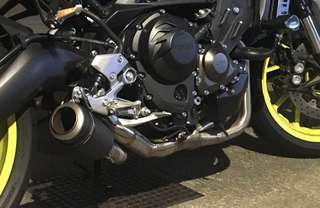 Sc project full system for Yamaha mt09