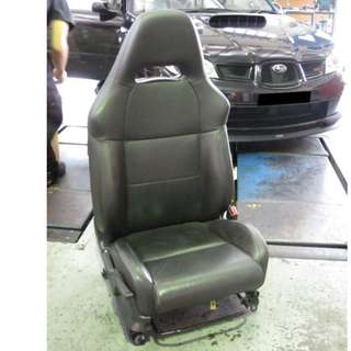 2007 Subaru Impreza STI-S Driver Leather Seat