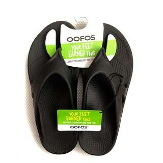 Oofoos Men's Flip Flops [Men's Size US12]