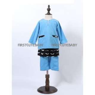 Baju Melayu Sampin (3pcs set)  (FF0131)