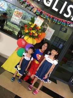 Supergirl costume for rent