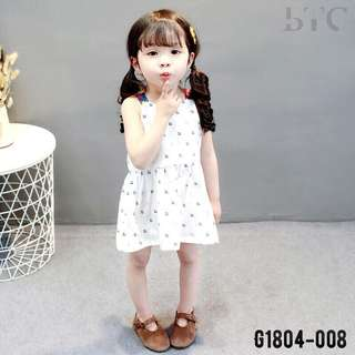 Girl dress good quality white skirt cute design korea