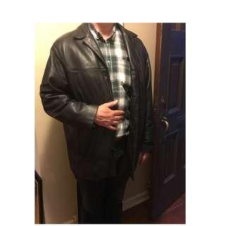 Black Danier Leather jacket