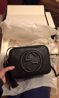 Gucci Black Disco Sling Bag