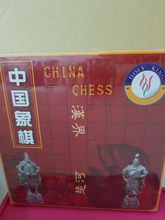 Wooden Chinese Chess Checker Game