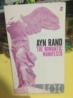Romantic Manifesto by Ayn Rand