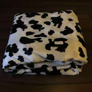 Moo Cow Faux Fur on Knit Backing 150cm X400cm