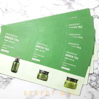 Innisfree Night Care Kit (Travel Size)
