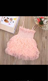 Baby girl tutu dress infant newborn toddler kid