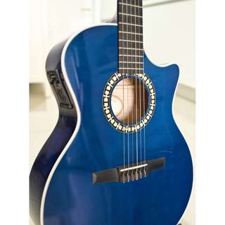 Taylor NS64CE Nylon Acoustic Guitar Maple Grand Auditorium Cutaway with OHC