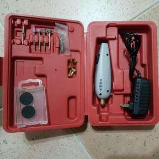 New Mini Portable Electric Hand Drill Grinder Polish Machine Set
