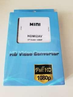 HDMI-to-AV Converter