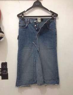 ORI billy blues jeans skirt