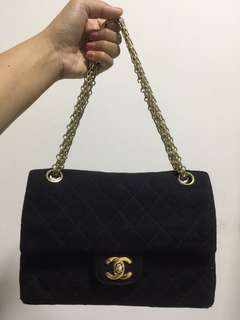 Authentic Vintage Chanel 2.55 in Nylon Bag