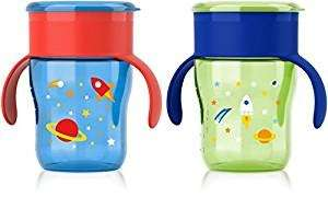 Avent My Natural Drinking Cup 9 oz, Set of 2