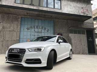 Wedding Car Rental Audi A3