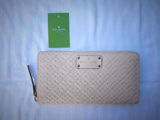 Authentic BNwT Kate Spade Leather Embossed Wallet