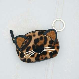KS LEOPARD COIN PURSE