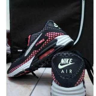 Sepatu Nike Airmax 90 Lunarlon Hot Lava