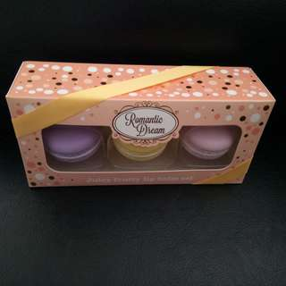 Macaroon Lip Balm Set - a collector's item