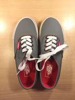 Vans Kids Grey and Pink