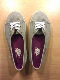 Vans Kids Grey Slip On