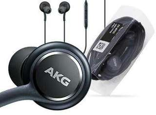 Authentic SAMSUNG Earphones Tuned by AKG (Gray Headphones)