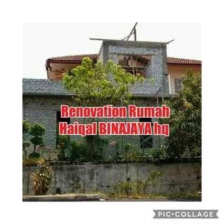 Renovation rumah