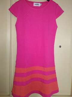 Dress Anak Pink/Orange