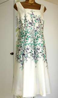 Gorgeous Laura Ashley Vine Dress with Petticoat